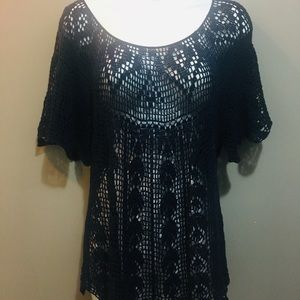 Free People Crotchet Top Size L